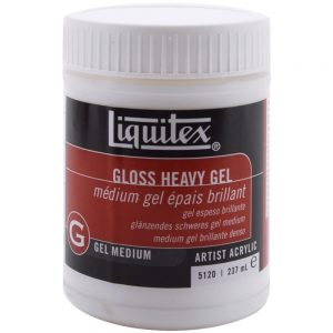 Liquitex Heavy Gloss Acrylic Gel Medium 8 oz/237 ml 5120