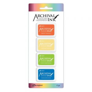 Ranger archival mini ink pad kit 3 AIMK57697