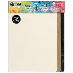 Ranger dylusions journal insert sheets assortment large DYA49104