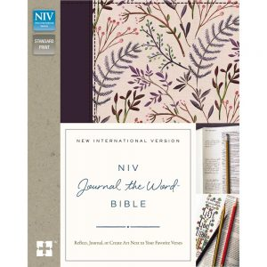 NIV Journal The Word Bible: Pink Coral (Engels) JB5166