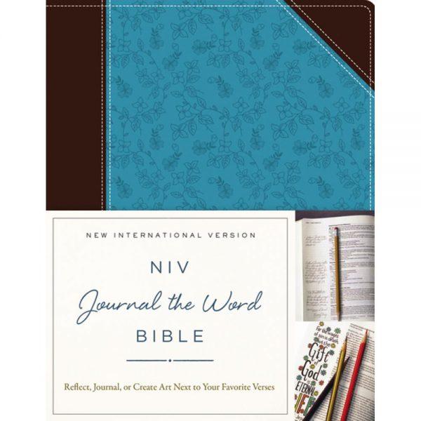 NIV Journal The Word Bible Chocolate Turquoise JB5562NIV Journal The Word Bible Chocolate Turquoise JB5562