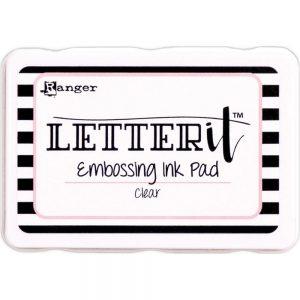 Ranger Letter It embossing ink pads