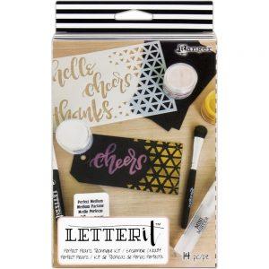 Ranger Letter It Perfect Pearls Technique Kit LEK59370