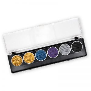 Finetec Coliro Pearl Color Set Pharao 6 colors 30 mm M740