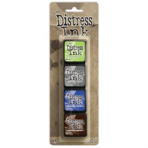 Tim Holtz - Mini Distress Ink Pad Kit 14 TDPK46745