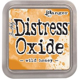 Tim Holtz distress oxide wild honey TDO56348