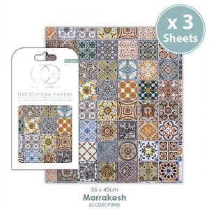 Craft Consortium Marrakesh Decoupage Papers CCDECP290