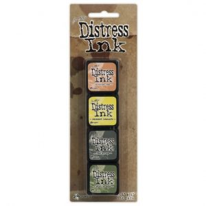 Tim Holtz - Mini Distress Ink Pad Kit 10 TDPK40408