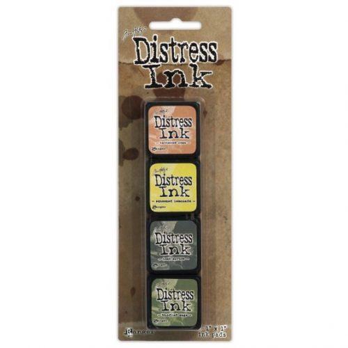 Tim Holtz - Mini Distress Ink Pad Kit 10 TDPK40408