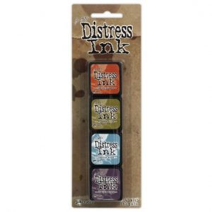Mini Distress Ink Pad Kit 8 TDPK40385
