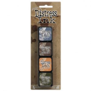 Mini Distress Ink Pad Kit 9 TDPK40392