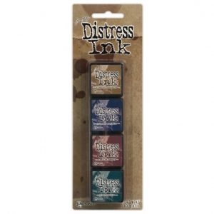 Tim Holtz - Mini Distress Ink Pad Kit 12 TDPK40422