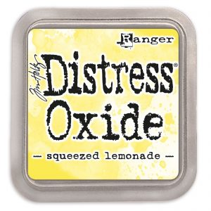 Tim Holtz distress oxide squeezed lemonade TDO56249