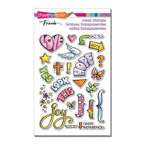 Stampendous Perfectly Clear Stamps Bible Journal SSC1250