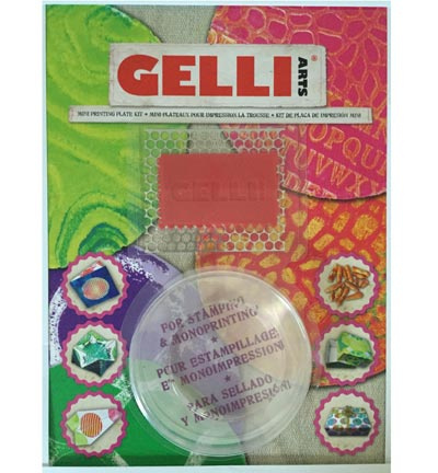 Gelli Arts Gel Printing Plate Mini Kit Round GELRMK