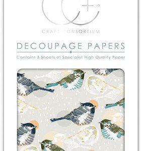 Craft Consortium Decoupagepapier Fenton CCDECP215