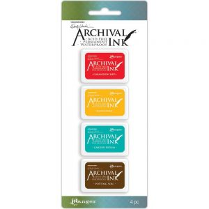 Ranger Wendy Vecchi Archival mini ink pad kit 1 AMDK57796