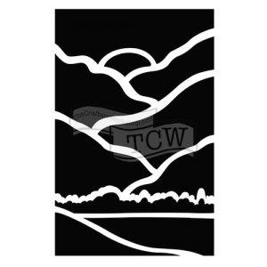 Tcw bible Journaling stencil landscape TCW2159