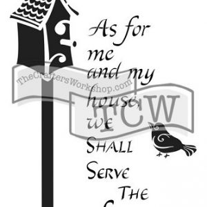 Tcw bible journaling stencil my house TCW2155
