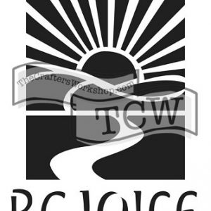 Tcw Bible journaling stencil Rejoice (TCW2153)