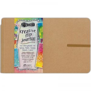 Dyan Reaveley's Dylusions flip journal DYJ53576