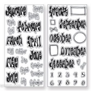 Dyan Reavely Creative Dyary Stempelset DEY56713