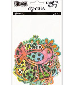 Dyan Reavely Creative Dyary Dy-Cuts Flowers and Birds DYE58717 voor art journaling en mixed media