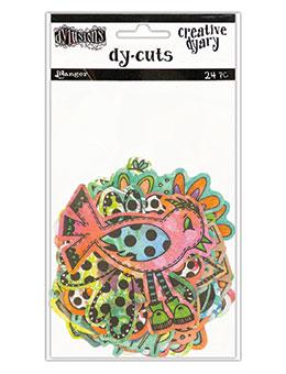 Dyan Reavely Creative Dyary Dy-Cuts Flowers and Birds DYE58717 voor art journaling en mixed media