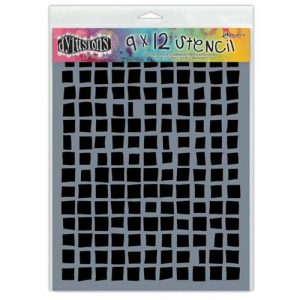 Dylusions Stencil Squares Large - DYS45465 van Dyan Reavely voor Art Journaling, Bible Journaling