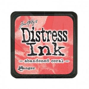 Distress Inkt Mini Abandoned Coral TDP46769 voor stencilen, stempelen, kaarten maken, art journaling