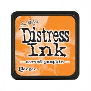 Ranger Distress Inkt Mini Carved Pumpkin TDP47377 voor art journaling, stempelen, bible journaling en mixed media