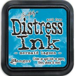 Distress Inkt Mini Mermaid Lagoon TDP46790. Voor stempelen, stencilen, kaarten maken en art journal