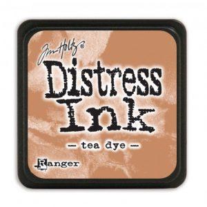 Distress Inkt Mini Tea Dye TDP40231 voor kaarten maken, stencilen, stempelen, mixed media en art journaling