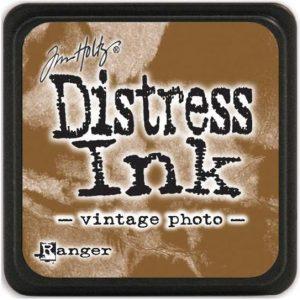 Distress Inkt Mini Vintage Photo TDP40262 van Tim Holtz Ranger. Voor stempelen, Stencilen, Kaarten Maken, Art Journal