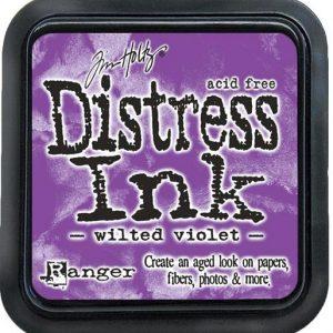 Distress Inkt Mini Wilted Violet TDP47360. Het droogt langzaam is zuurvrij en niet giftig