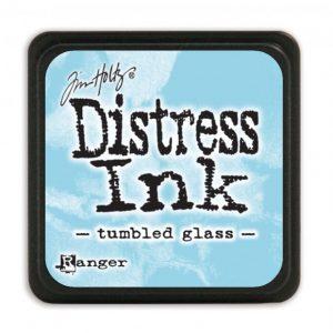 Ranger Distress Inkt Mini Tumbled Glass TDP40248 voor mixed media, art journaling, bible j ournaling