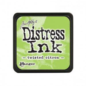 Distress Inkt Mini Twisted Citron TDP47322 voor stencilen, art journaling, stempelen, bible journaling