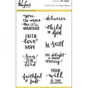 nkfresh Stempelset Child of God PFCS2716, ideaal voor bible journaling en kaarten maken