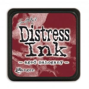 Ranger Distress Inkt Mini Aged Mahogany TDP39839 for mixed media, bible journaling, stempelen en stencilen