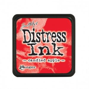 Ranger Distress Inkt Mini Candied Apple TDP47391 voor art journaling, stempelen, bible journaling, stencilen