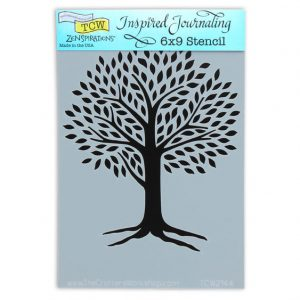 Tcw Bible journaling stencil Tree of Life TCW2144. Ideaal voor Bible Journaling, Mixed Media en Art Journaling