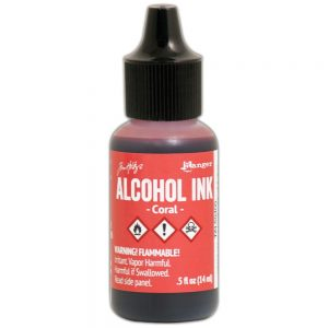 Ranger Tim Holtz Alcohol Ink 15 ml Coral