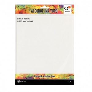 Alcohol Inkt Yupo Papier Wit 20 x 25 cm 5 stuks TAC63346