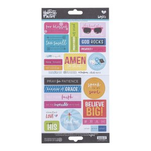Illustrated faith stickers go & tell 2 - 1496