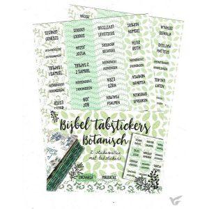 Bijbel tabstickers Botanisch 8719324353465'