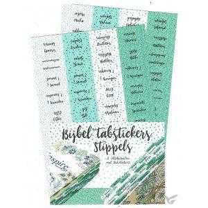 Bijbel tabstickers Stippels 8719324353458