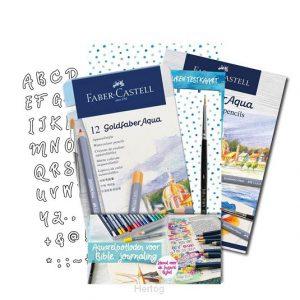 Faber-Castell Aquarelpotloden voor Bible Journaling 8719324353441
