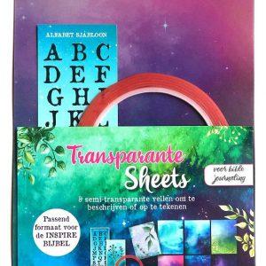 Transparante sheets (formaat inspire bijbel) 8719324353489