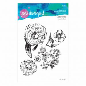 Jane Davenport Clear Stamp Build a Bouquet JDS-035