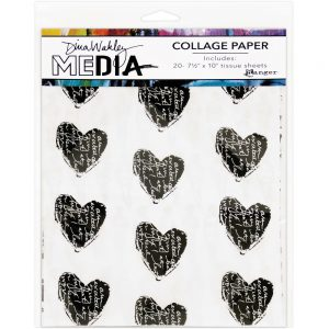 Dina Wakley media collage tissue papier MDA61076